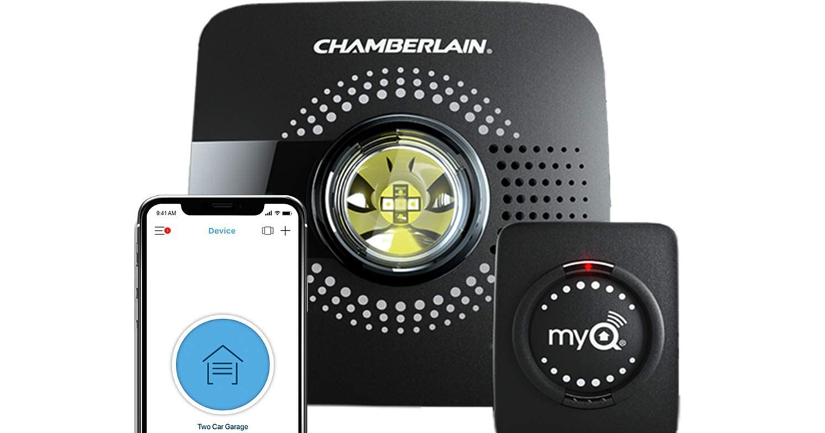 Frequently Asked Questions about Chamberlain MYQ-G0301 Group MyQ Smart Garage Door Opener